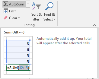 Simple Excel Formulas: SUM and AVERAGE | OXEN Technology