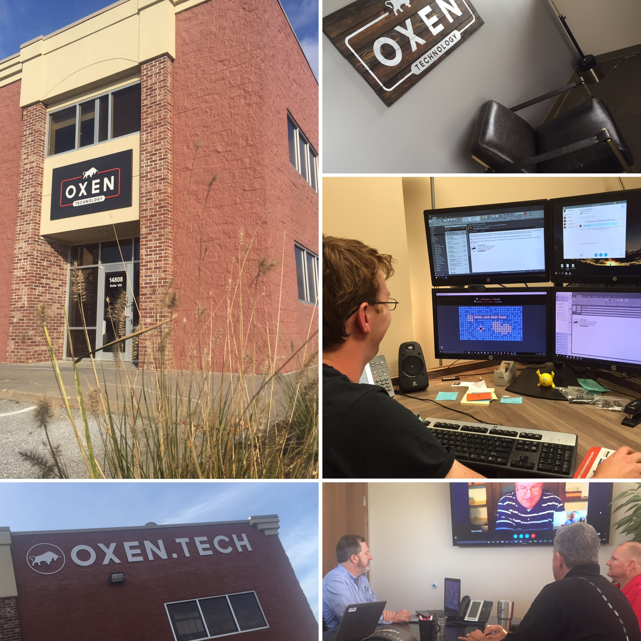 Omaha, NE Office Managed IT Services - OXEN Technology