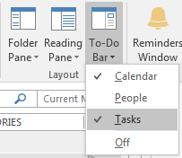 Adding Tasks in Outlook