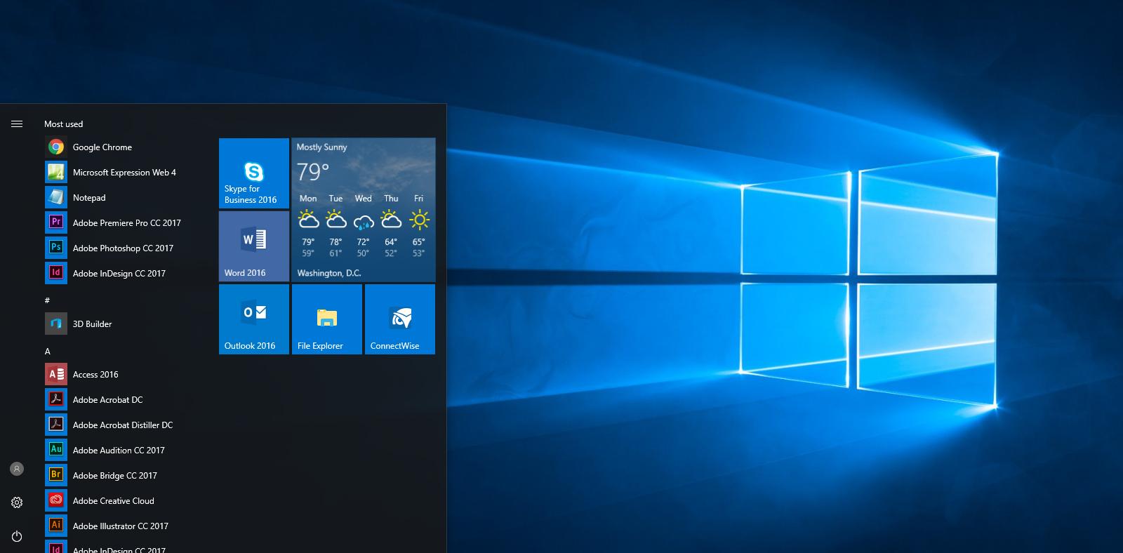 Customize your Windows 10 Start menu