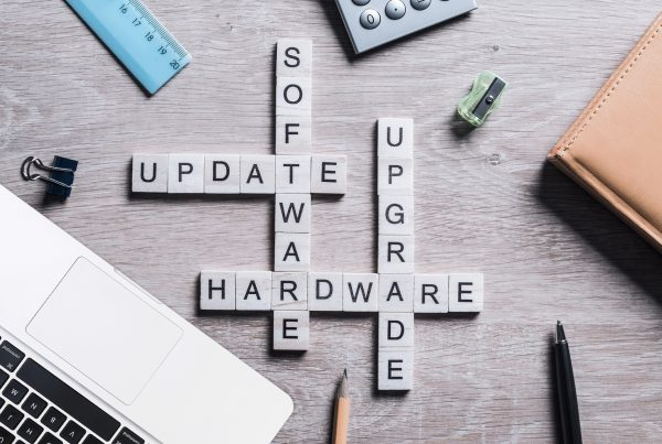 Remember software and hardware updates are essential to cyber security