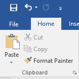 Tips for Word documents: Format painter