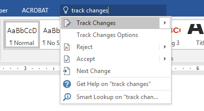 Tips for Word documents: Help