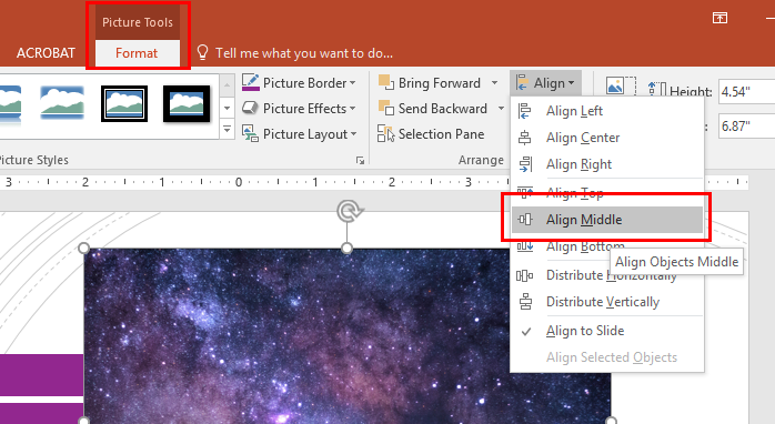 Aligning Objects in PowerPoint | OXEN Technology