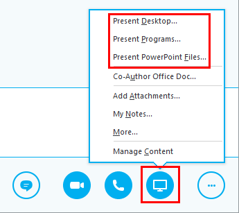 How to Present in Skype for Business | OXEN Technology