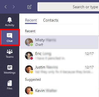 Presenting in Microsoft Teams