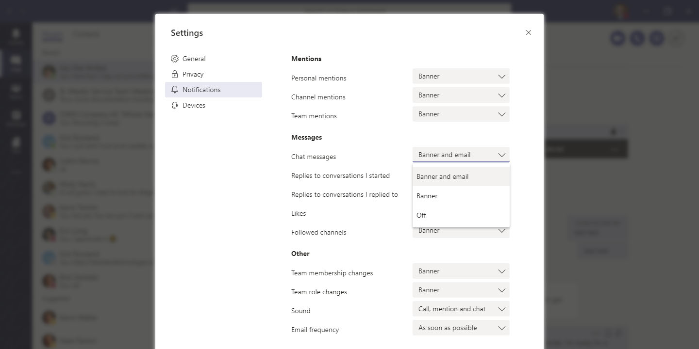 Office 365 Tip: Adjust Your Teams Notifications Settings | OXEN