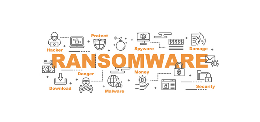 Ransomware - Cybersecurity Banner