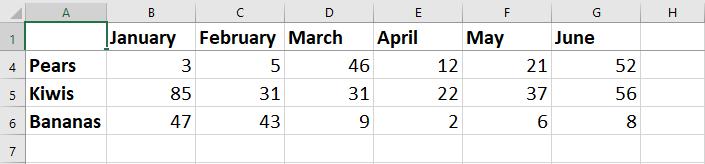 Freeze Top Row in Excel